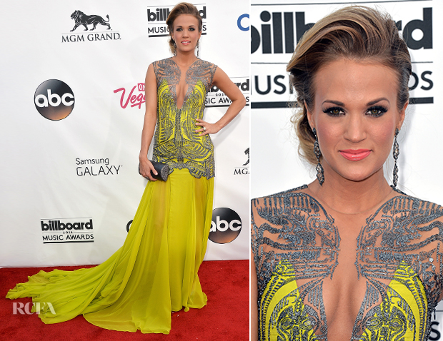 Carrie Underwood In Oriett Domenech - 2014 Billboard Music Awards