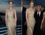 Cate Blanchett In Armani Privé -  Vanity Fair And Armani Party