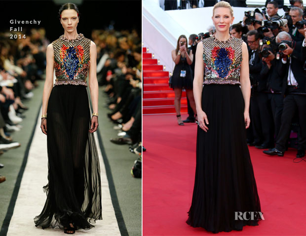Cate Blanchett In Givenchy - 'How To Train Your Dragon 2′ Cannes Film Festival Premiere