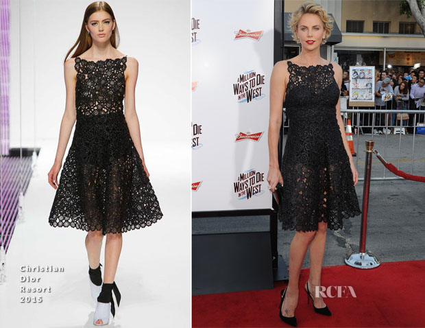 Charlize Theron In Christian Dior - 'A Million Ways To Die In The West' LA Premiere2