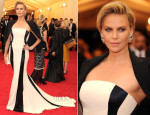 Charlize Theron In Dior Couture - 2014 Met Gala