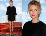 Charlize Theron In Stella McCartney - 'A Million Ways To Die In The West' London Photocall