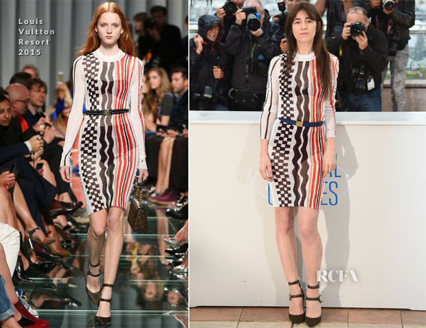 Charlotte Gainsbourg In Louis Vuitton - 'Incompresa' Cannes Film Festival Photocall