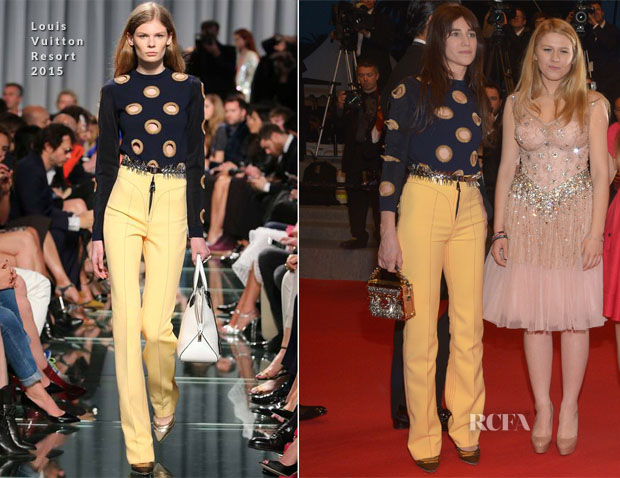 Charlotte Gainsbourg In Louis Vuitton - 'Misunderstood' (Incompresa) Cannes Film Festival Premiere