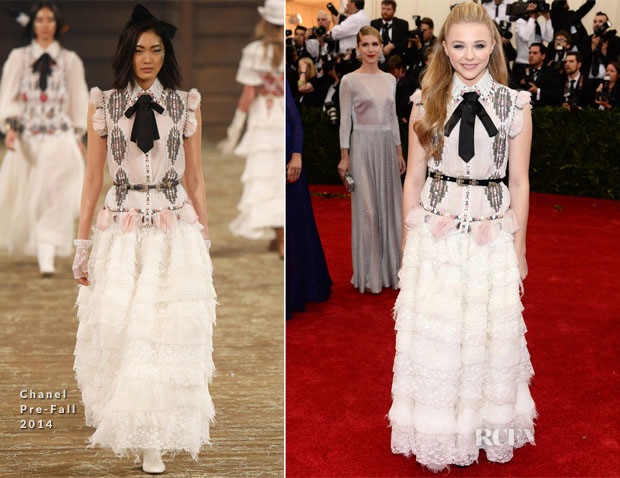 Chloe Moretz In Chanel Couture - 2014 Met Gala