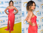 Chrissy Teigen In Blumarine -  Tyra Banks' Flawsome Ball 2014
