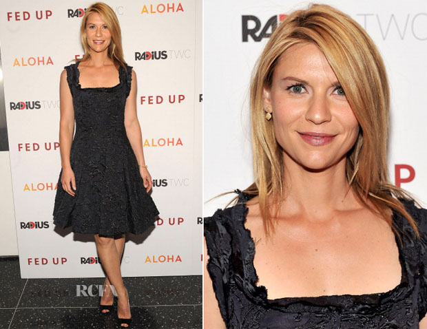 Claire Danes In Lanvin - 'Fed Up' New York Premiere