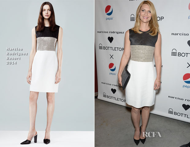 Claire Danes In Narciso Rodriguez - Narciso Rodriguez Bottletop Collection Pepsi US Launch