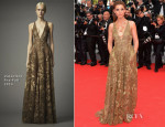 Clotilde Courau In Valentino - 'The Search' Cannes Film Festival Premiere
