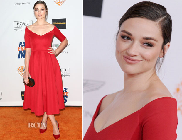 Crystal Reed In Lublu by Kira Plastinina - 21st Annual Race to Erase MS