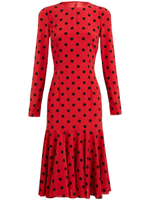 DOLCE & GABBANA Polka dot dress 2
