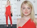 Dakota Fanning In Roland Mouret - 'Night Moves' New York Premiere