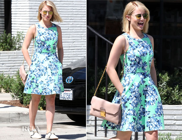 Dianna Agron In J Crew - Gracias Madre