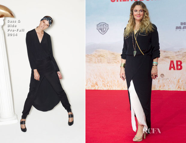 Drew Barrymore In Sass & Bide - 'Blended' Berlin Premiere