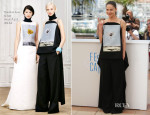Elena Lyadova In Christian Dior - 'Leviathan' Cannes Film Festival Photocall