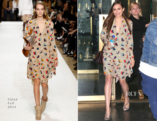 Elizabeth Olsen In Chloé - The Today Show