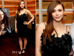 Elizabeth Olsen In Issa - Flaunt Magazine Cover Party