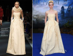 Elle Fanning In Georges Hobeika Couture - 'Maleficent' Private Reception