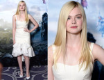 Elle Fanning In Ellery - 'Maleficent' London Photocall