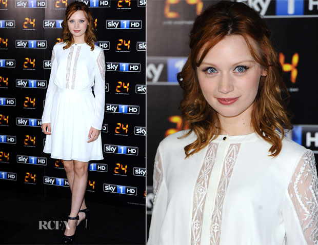 Emily Berrington In  ALICE by Temperley - '24 Live Another Day'