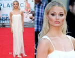 Emma Rigby In Tom Ford - 'Plastic' London Premiere