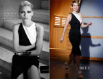 Emma Roberts In Alexandre Vauthier - Late Night with Seth Meyers