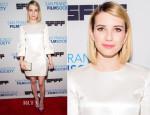 Emma Roberts In Christian Dior - 'Palo Alto' San Francisco Film Festival Premiere
