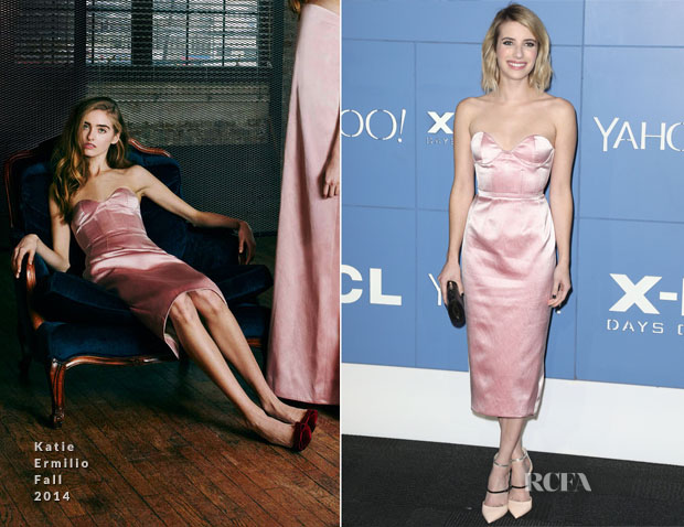 Emma Roberts In Katie Ermilio - 'X-Men Days Of Future Past' World Premiere