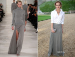 Emma Watson In Ralph Lauren - The Royal Marsden Dinner