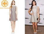 Emmy Rossum's Tory Burch 'Fran' Dress