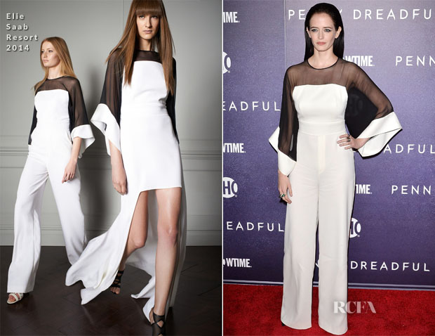 Eva Green In Elie Saab - 'Penny Dreadful' World Premiere