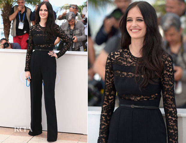 Eva Green In Elie Saab - 'The Salvation' Cannes Photocall