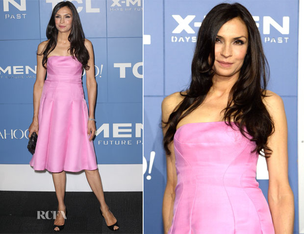 Famke Janssen In J Mendel - 'X-Men Days Of Future Past' World Premiere