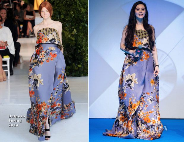 Fan Bingbing In Delpozo - 'X-Men Days of Future Past' Singapore Premiere
