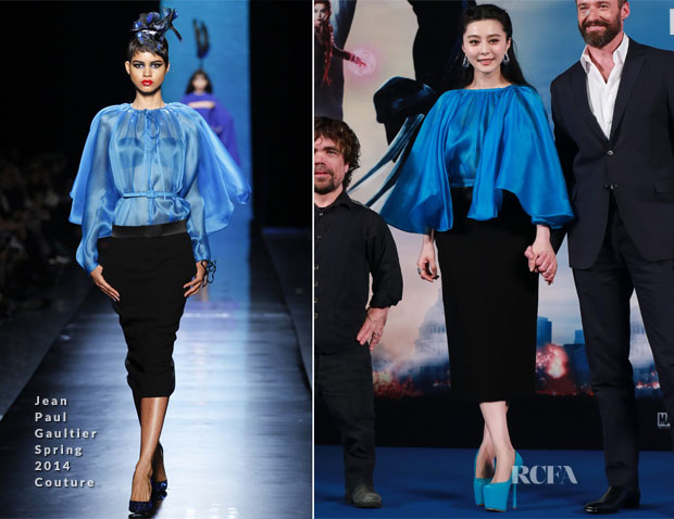 Fan Bingbing In Jean Paul Gaultier Couture - 'X-Men Days of Future Past' China Press Conference