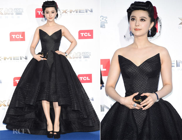 Fan Bingbing In Zac Posen - 'X-Men Days of Future Past' Beijing Premiere