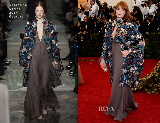 Florence Welch In Valentino Couture - 2014 Met Gala
