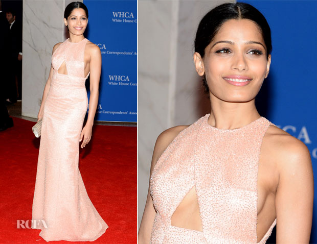 Freida Pinto In Thakoon - 100th Annual White House Correspondents' Association Dinner