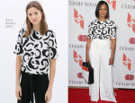 Garcelle Beauvais In Zara & Rachel Zoe - The Helping Hand of Los Angeles Mother's Day Luncheon