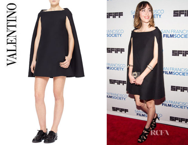 Gia Coppola's Valentino Cape Dress