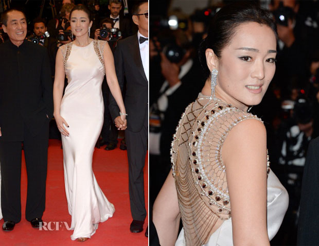 Gong Li In Roberto Cavalli -  'Coming Home' Cannes Film Festival Premiere