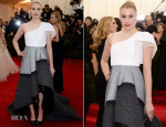 Greta Gerwig In Theory by Olivier Theyskens - 2014 Met Gala