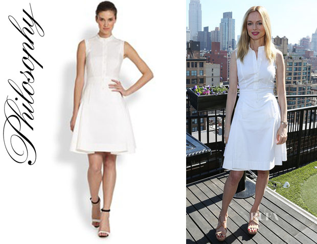 Heather Graham's Philosophy Shirtdress