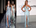 Heidi Klum In Atelier Versace - amfAR Cinema Against Aids Gala