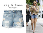 Hilary Duff's Rag & Bone 'The Boyfriend' Shorts
