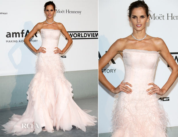 Izabel Goulart In Emilio Pucci - amfAR Cinema Against Aids Gala