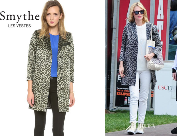 January Jones' Smythe 'Lab' Coat