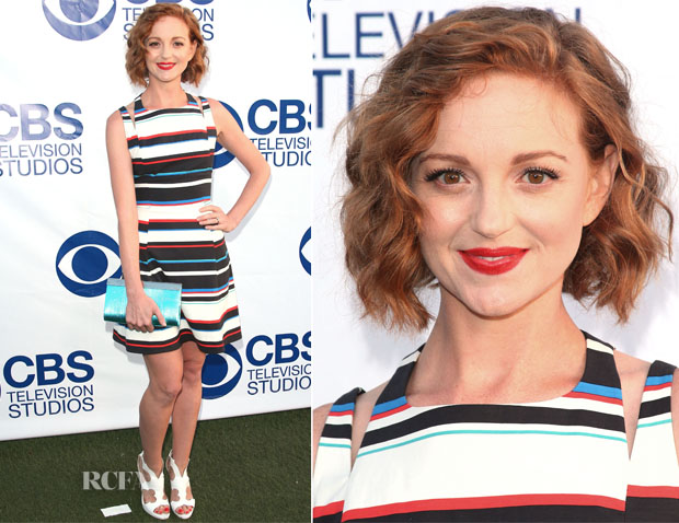 Jayma Mays In Rebecca Minkoff - CBS Summer Soiree