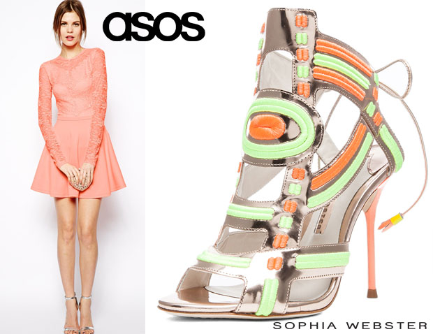 Jennifer Lopez In ASOS and Sophia Webster