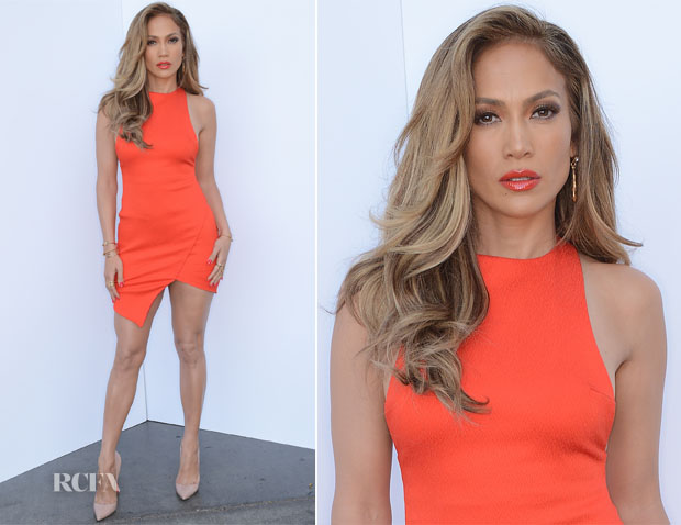 Jennifer Lopez In Bec & Bridge - 'American Idol Season 13 Top 4 To 3' Live Elimination Show